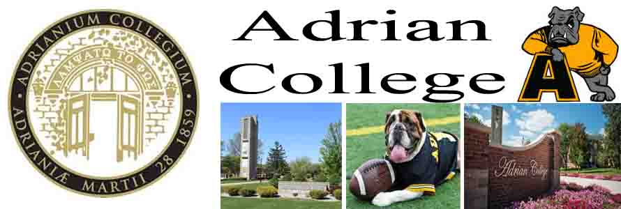 Adrian College Crest, school mascot, campus pictures and images