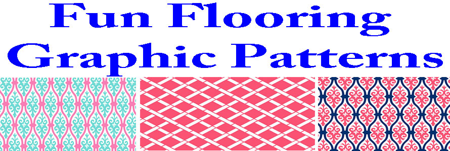 Fun Flooring graphic pattern header image made by Everything Doormats.