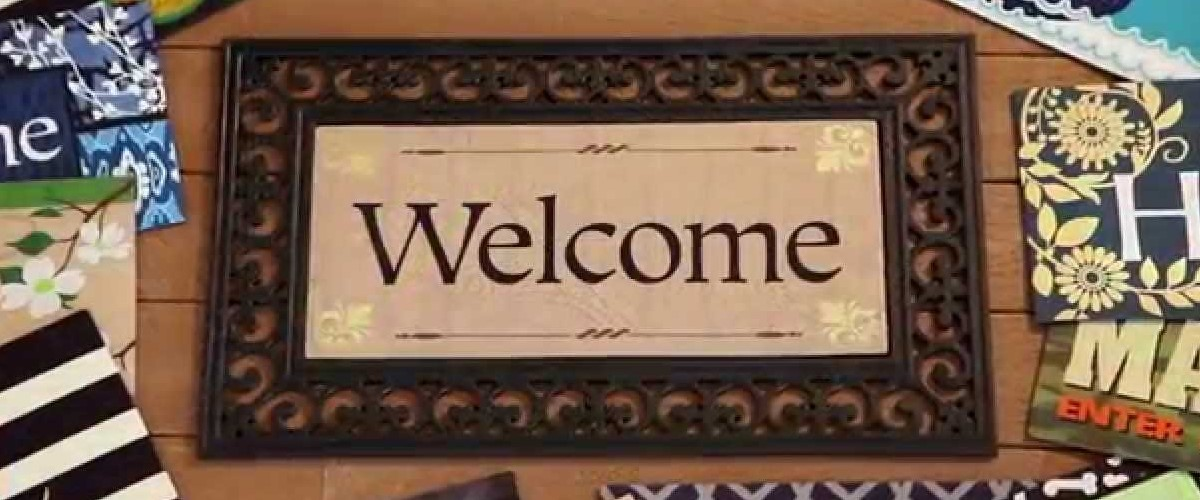 Outdoor Welcome Mats Easy Home Decorating Ideas