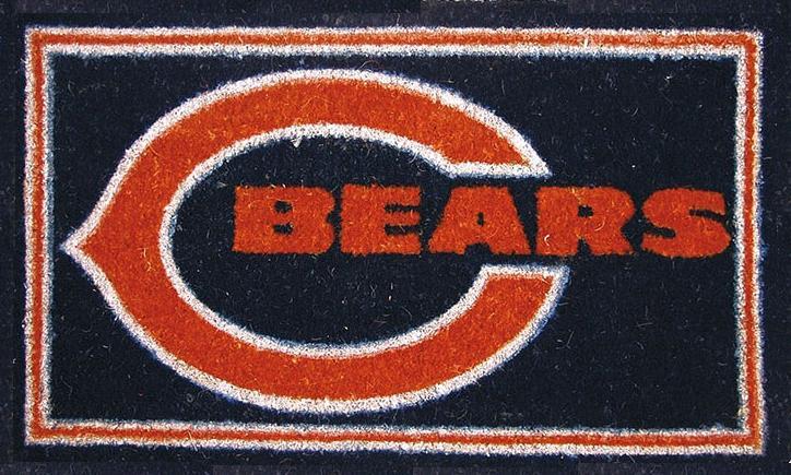 Nfl Football Chicago Bears Coir Coco Welcome Mat Doormat