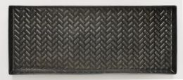 Chevron Boot or Plant Tray - Zinc