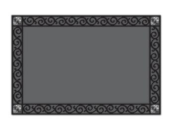 Scroll Corner MatMates Doormat Tray
