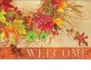 Indoor & Outdoor Autumn Wreath MatMates Doormat - 18 x 30