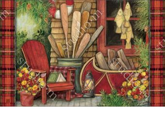 Indoor & Outdoor Fall Relaxation MatMate Doormat-18x30
