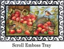 Indoor & Outdoor Apples Galore MatMate Doormat-18x30