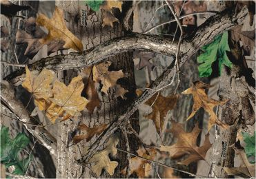 Timber Realtree Leaves & Branches Camouflage Nylon Area Rug