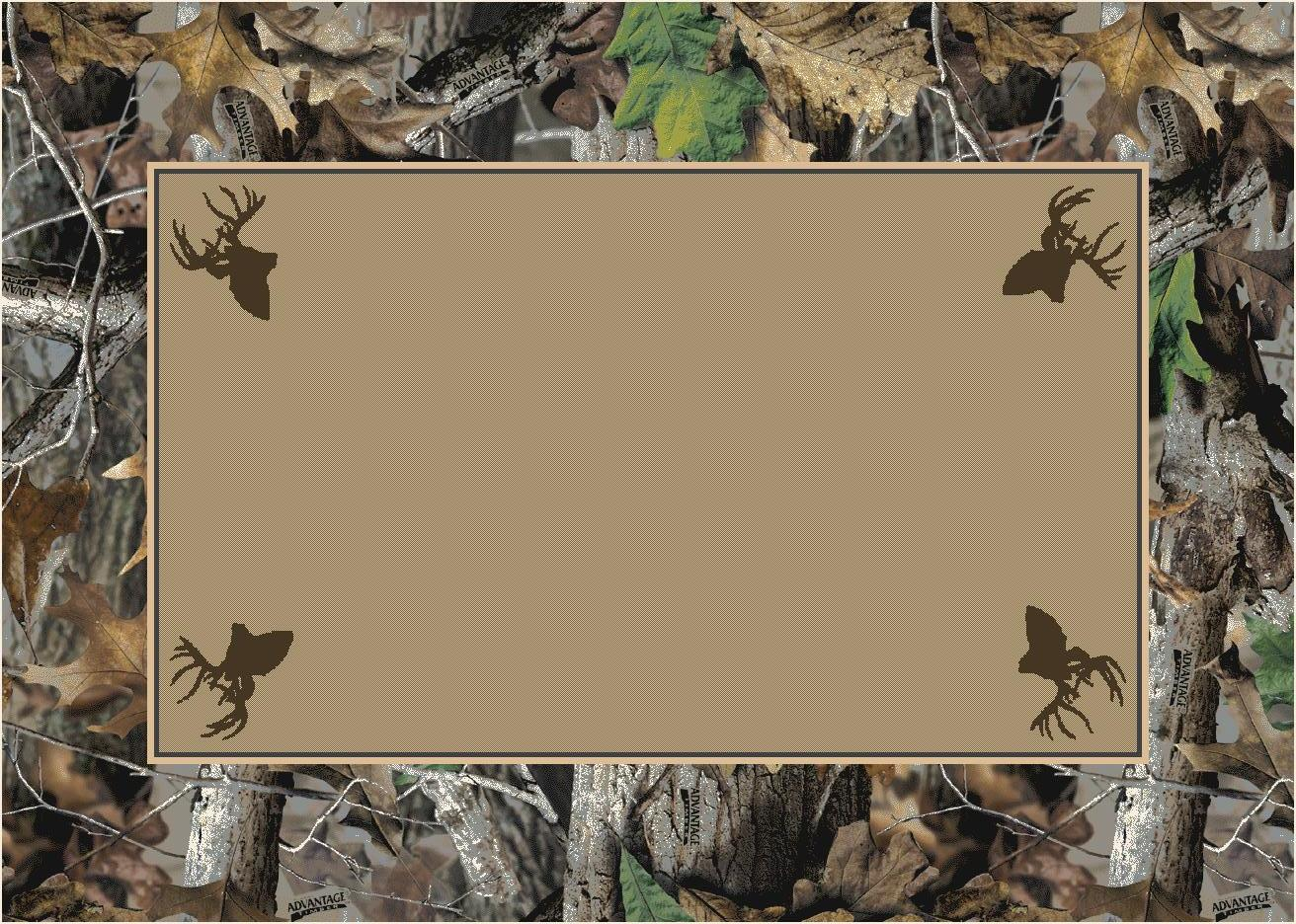 Timber Realtree Bordered Tree Amp Leaves Camouflage Nylon
