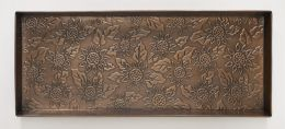 Sunflowers Boot or Plant Tray - Antique Copper