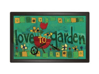 Love to Garden Spring Seasonal MatMates decorative Floor Mat
