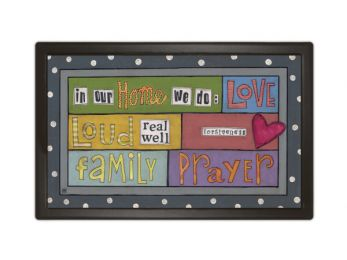 Indoor & Outdoor MatMates Insert Doormat - In Our Home
