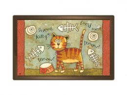 Sweet Kitty MatMates decorative Animal Non-Slip Floor/Doormat