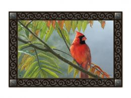 Redbird - decorative Animal Non-Slip Floor/Doormat MatMates
