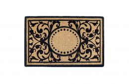 Heritage Natural Coco Coir Doormat - Welcome Mat