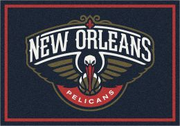 New Orleans Pelicans Spirit NBA Basketball Logo Area Rug