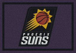 Phoenix Suns Spirit NBA Basketball Logo Area Rug