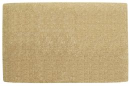 Natural Fiber Plain No Border Coco Coir Doormat