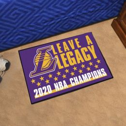 LA Lakers NBA 2020 Finals Starter Doormat-18x30