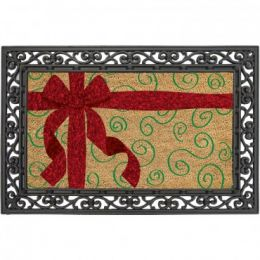 Classic Coir Christmas Package Welcome Doormat