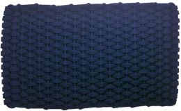 Navy Blue Indoor/Outdoor Hand Woven Doormat