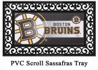Boston Bruins Sassafras Mat - 10 x 22 Insert Doormat