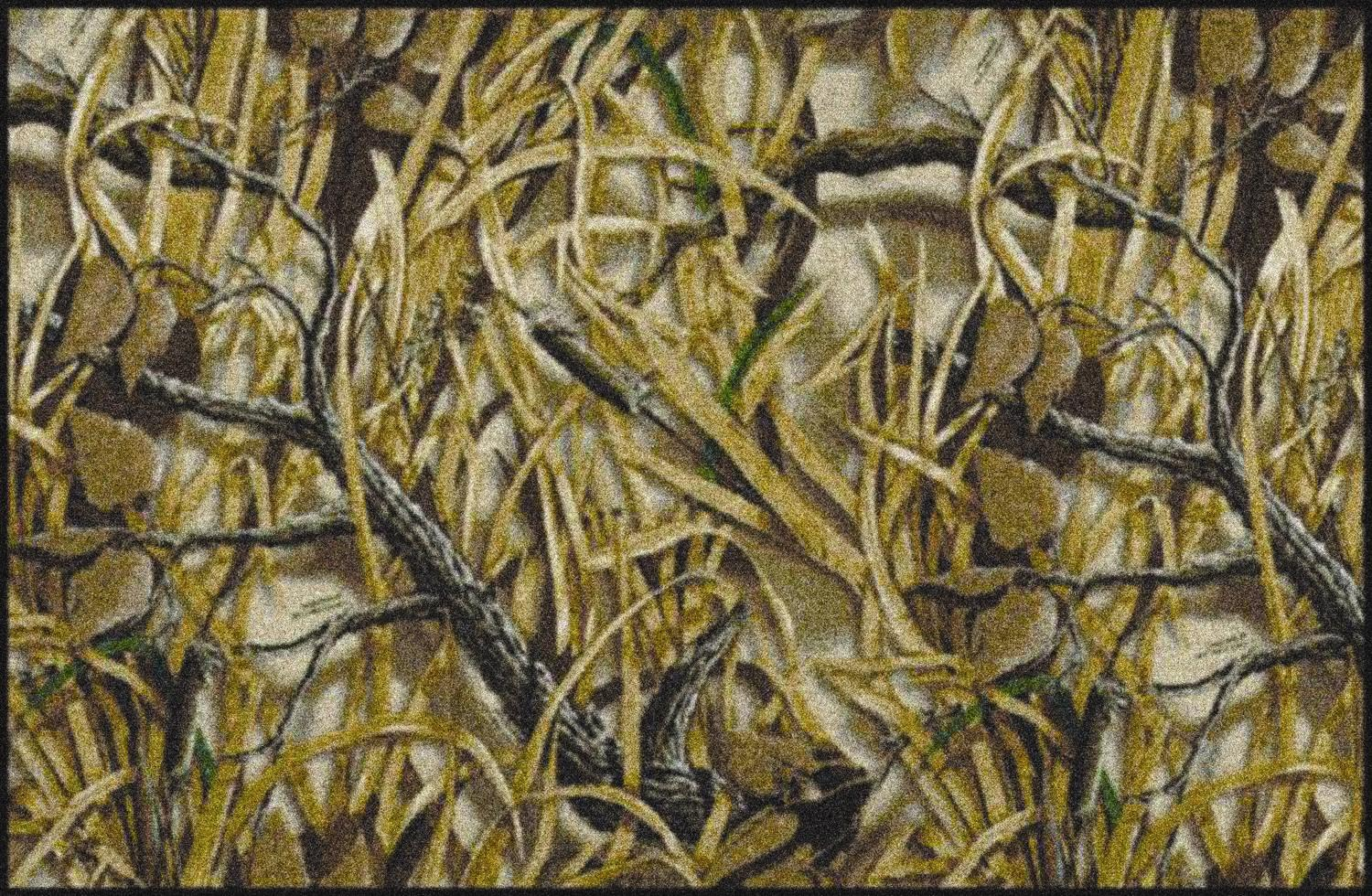 Wetlands Realtree Leaves Amp Branches Camouflage Nylon Area Rug