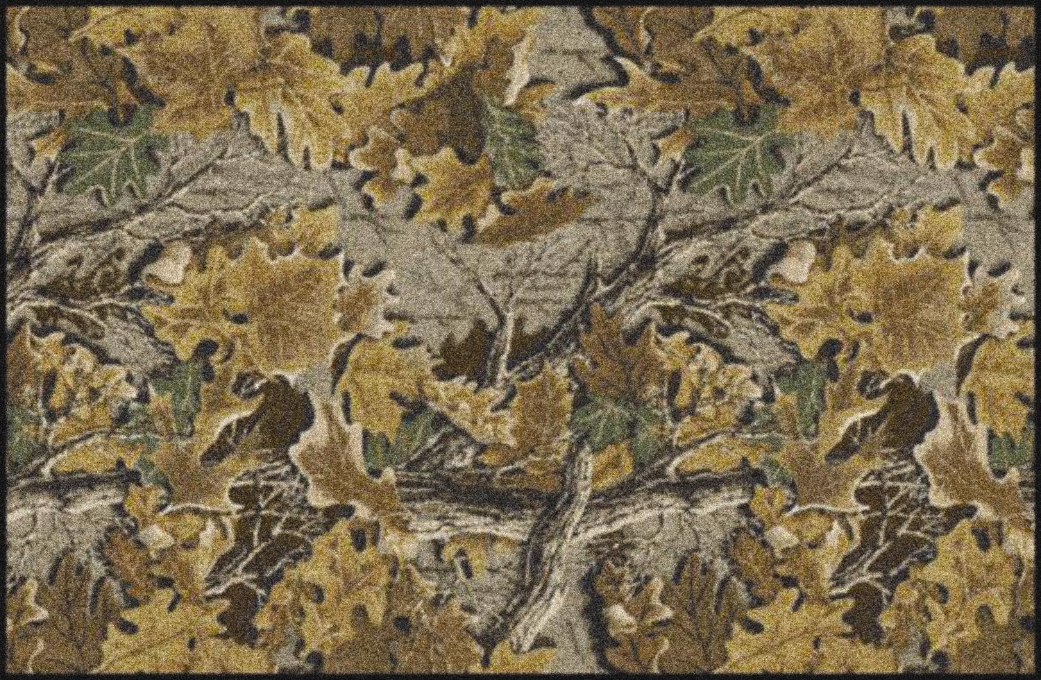 Advantage Realtree Leaves Amp Branches Camouflage Nylon Area Rug