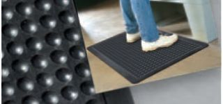 Beveled Edges Bubble Flex Anti-Fatigue Mat