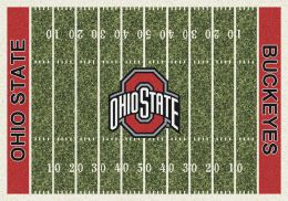 Ohio State Buckeyes Home Field Area Rug - Football Logo