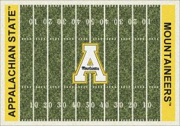 Appalachian State Mount Aineers Football Home Field Area Rug