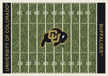 Colorado Buffaloes Home Field Area Rug - Football Logo