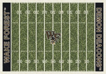 Wake Forest Demon Deacons Home Field Area Rug - Football Logo