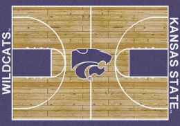 Kansas State Wildcats Home Field Area Rug - Football Logo