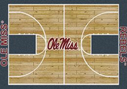 Mississippi Ole Miss Rebels Home Field Area Rug - Football Logo