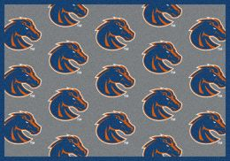 Boise State Broncos Repeat Logo Area Rug - College Mat