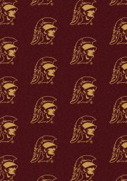 Southern California USC Repeat Logo Area Rug - College Mat