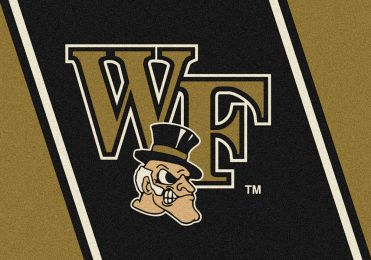 Wake Forest Spirit Area Rug - College Logo Mat