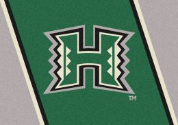 Hawaii Spirit Area Rug - College Logo Mat