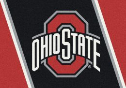 Ohio State Spirit Area Rug - College Logo Mat