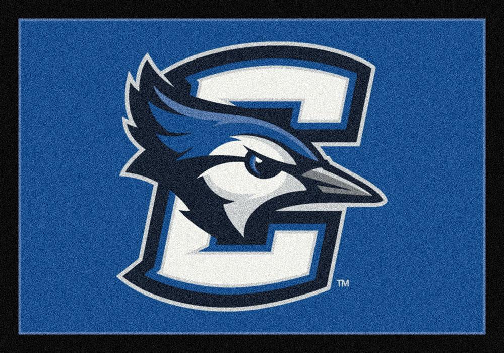 Creighton Blue Jays Spirit Area Rug College Logo Mat