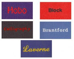 Embroided Personalized Deluxe Yoga Mat