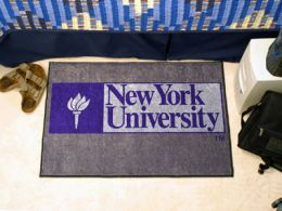 New York University Starter Nylon Eco Friendly  Doormat