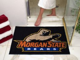 Morgan State University All Star Nylon Eco Friendly  Doormat