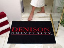 Denison University All Star Nylon Eco Friendly  Doormat