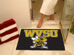 West Virginia State All Star Nylon Eco Friendly  Doormat