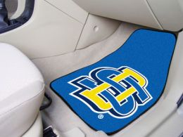 South Dakota State Univ  2pc Printed Carpet Car Mat Set