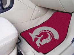 University of Arkansas Little Rock 2pc Printed Carpet Car Mat Set