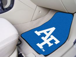 US Air Force Academy 2pc Printed Carpet Car Mat Set