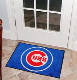 Chicago Cubs Starter Door Mat