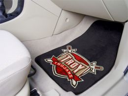Troy University  2pc Printed Carpet Car Mat Set
