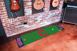 Cleveland Indians Putting Green Mat